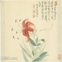 【印刷級】GH6063787古畫花卉冊-(3)冊頁圖片-52M-5152X3544