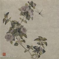 【印刷级】GH6065042古画花卉册页-(10)册页图片-130M-4874X4691