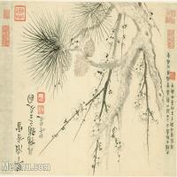 【印刷級】GH6063784古畫花卉冊-(11)冊頁圖片-52M-5088X3599
