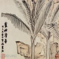 【印刷级】GH6064945古画清金农扬州八怪册页-(11)册页图片-29M-3728X2800