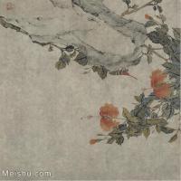 【印刷级】GH6065047古画花卉册页-(4)册页图片-127M-4668X4780