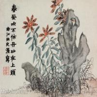 【印刷级】GH6064946古画清金农扬州八怪册页-(12)册页图片-29M-3677X2797