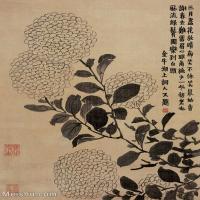 【印刷级】GH6064667古画清-金农-花卉册八开1-(3)册页图片-29M-2802X3725_57324330