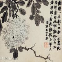 【印刷级】GH6064947古画清金农扬州八怪册页-(13)册页图片-28M-3576X2795