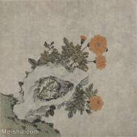 【印刷级】GH6065045古画花卉册页-(2)册页图片-134M-4693X5023