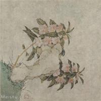 【印刷级】GH6065046古画花卉册页-(3)册页图片-128M-4605X4892