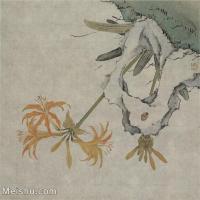 【印刷级】GH6065052古画花卉册页-(9)册页图片-129M-4867X4634