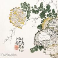 【印刷级】GH6065022古画王概-芥子园画谱册页图片-33M-3814X3108