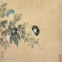 【印刷级】GH6062748古画恽寿平-花鸟图册8开(5)册页图片-88M-6027X4465