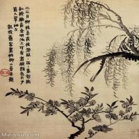 【印刷级】GH6064672古画清-金农-花卉册八开1册页图片-30M-2785X3774_57329837