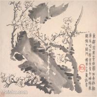 【印刷级】GH6064656古画清-金农-梅花图册-大都会博物馆-(11)册页图片-38M-4000X3388
