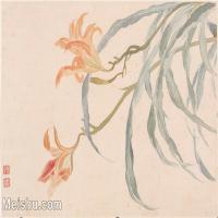【印刷级】GH6060161古画恽寿平册页图片-68M-6016X3986