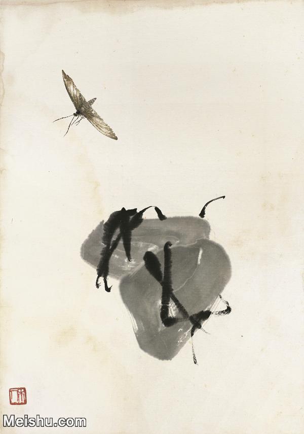 【印刷级】JXD6193881近现代国画草虫昆虫-齐白石全集图片-79M-.jpg