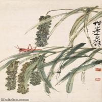【印刷级】JXD6194120近现代国画草虫昆虫-齐白石全集图片-50M-