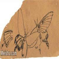 【印刷级】JXD6193894近现代国画草虫昆虫-齐白石全集图片-10M-