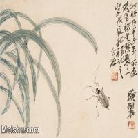 【印刷级】JXD6194076近现代国画草虫昆虫-齐白石全集图片-22M-