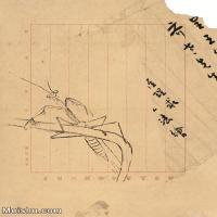 【印刷级】JXD6193964近现代国画草虫昆虫-齐白石全集图片-94M-