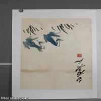 【超顶级】JXD6190242近现代国画齐白石作品鱼虾图册--水墨-30x39.5-40x52.5-青蛙