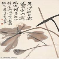 【打印级】JXD6193390近现代国画草木植物-齐白石全集图片-53M-