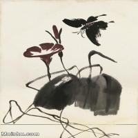 【打印级】JXD6193438近现代国画草木植物-齐白石全集图片-34M-