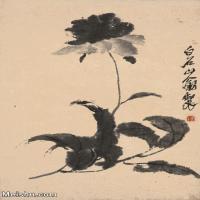 【打印级】JXD6193398近现代国画草木植物-齐白石全集图片-66M-
