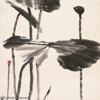 【打印级】JXD6193401近现代国画草木植物-齐白石全集图片-81M-