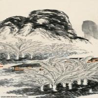 【欣赏级】JXD6191867近现代国画齐白石作品立轴图片-7M