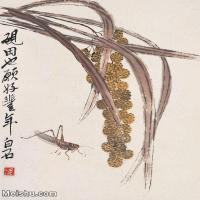 【打印級】JXD6192795近現代國畫齊白石作品小品圖片-24M-