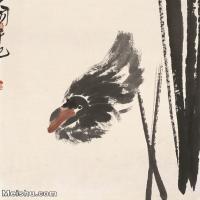 【打印级】JXD6195364近现代国画飞禽鸟雀-齐白石全集图片-97M-