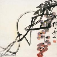 【打印级】JXD12122332-齐璜高端-小品镜片-齐白石近现代国画高清艺术图像喷墨印刷专用电子数据图像下载-42M-