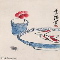 【欣赏级】JXD6192718近现代国画齐白石作品小品图片-3M-