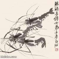 【欣赏级】JXD6192752近现代国画齐白石作品小品图片-6M-