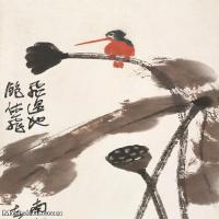 【打印级】JXD6195206近现代国画飞禽鸟雀-齐白石全集图片-78M-