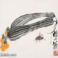 【打印级】JXD6192850近现代国画齐白石作品小品图片-19M-