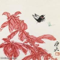 【欣赏级】JXD6192737近现代国画齐白石作品小品图片-9M-