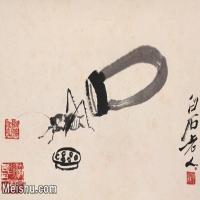 【打印級】JXD6192791近現代國畫齊白石作品小品圖片-18M-