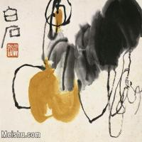 【打印級】JXD6192726近現代國畫齊白石作品小品圖片-22M-