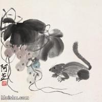 【打印级】JXD6192839近现代国画齐白石作品小品图片-25M-