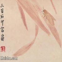 【打印級】JXD6192800近現代國畫齊白石作品小品圖片-17M-