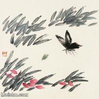 【欣赏级】JXD6192684近现代国画齐白石作品小品图片-7M-
