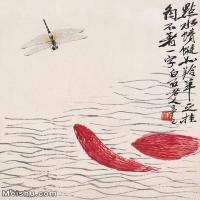 【打印級】JXD6192786近現代國畫齊白石作品小品圖片-24M-