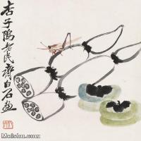 【欣赏级】JXD6192764近现代国画齐白石作品小品图片-5M-