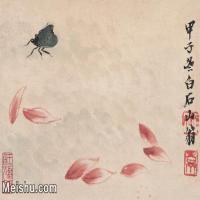 【打印级】JXD6192841近现代国画齐白石作品小品图片-17M-