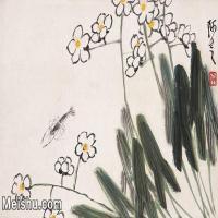 【打印級】JXD6192779近現代國畫齊白石作品小品圖片-16M-