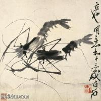 【打印級】JXD6192723近現代國畫齊白石作品小品圖片-29M-
