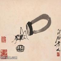 【打印級】JXD6192759近現代國畫齊白石作品小品圖片-26M-