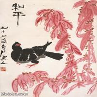 【打印级】JXD6195328近现代国画飞禽鸟雀-齐白石全集图片-93M-