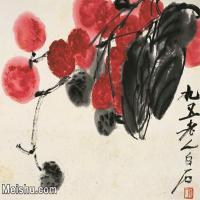 【打印級】JXD6192721近現代國畫齊白石作品小品圖片-26M-