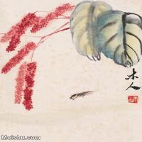 【欣赏级】JXD6192814近现代国画齐白石作品小品图片-23M-