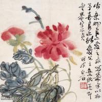 【欣赏级】JXD6192720近现代国画齐白石作品小品图片-3M-